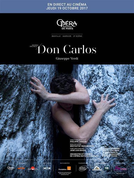 DON CARLO en direct de L'Opéra Bastille Jeudi 19 Octobre à 18h00 Infos et horaires sur www.majestic-cinemas.com