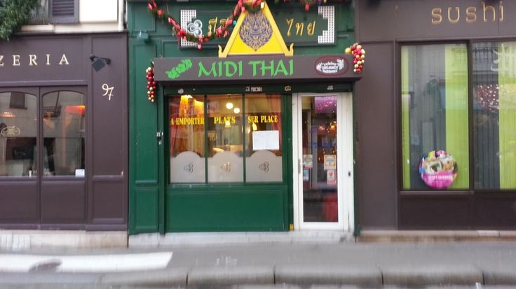 Midi Thaï – Le meilleur pad thaï de Paris  #thai #restaurant