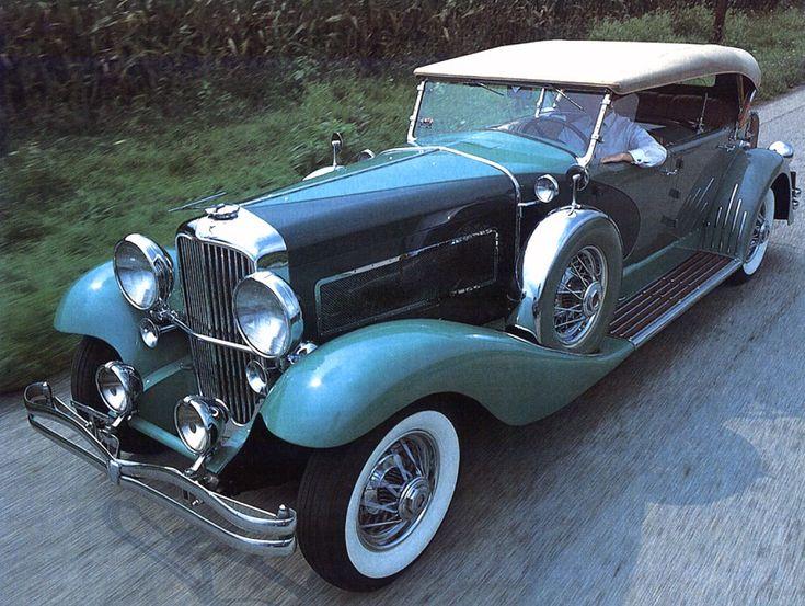 1932 Duesenberg SJ Touring Car Green