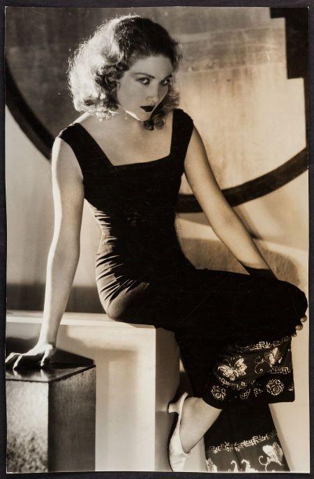 George Hurrell - Edwina Booth (1930s)