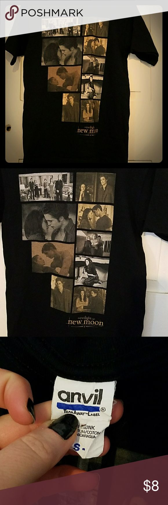 Twilight New Moon Photographs shirt Twilight New Moon Photographs shirt. Size Small purchased at Hot Topic.  Good condition. Hot Topic Tops Tees - Short Sleeve