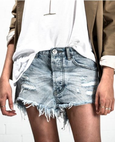 ONE TEASPOON - SHORTS - SUMMER DENIM