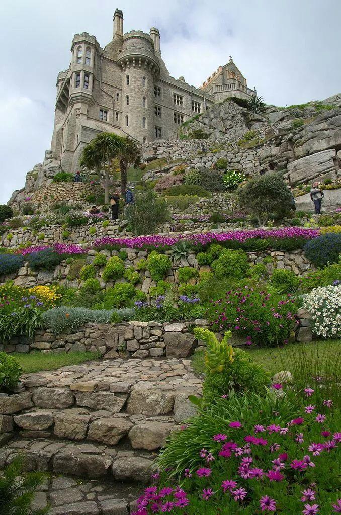 Photo: St Michael's Mount, Cornwall, England