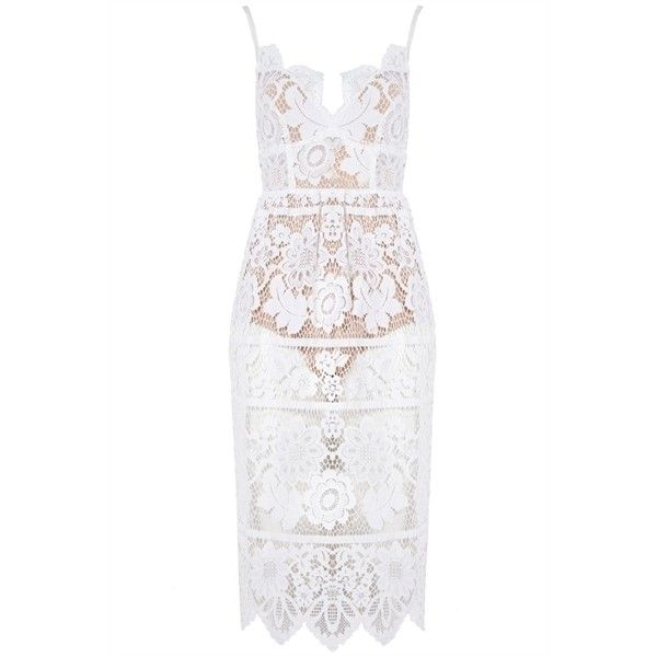 For Love and Lemons Gianna Dress ($345) ❤ liked on Polyvore featuring dresses, white day dress, floral embroidered dresses, floral print dress, lemon dress and white floral print dress