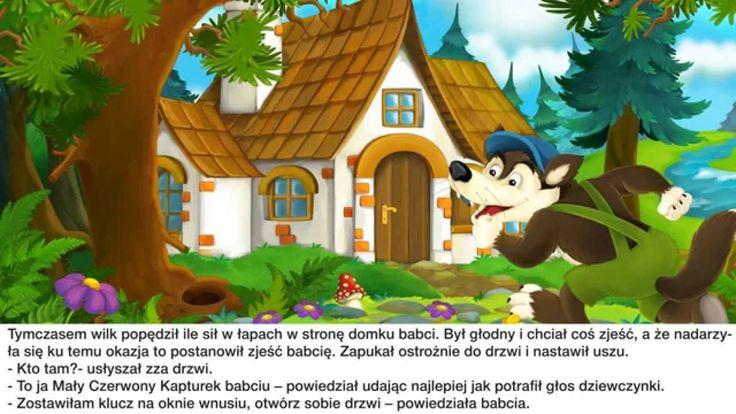 Bajka Braci Grimm dla dzieci - Baśń Czerwony kapturek