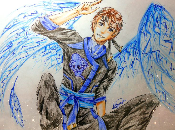 Electric Angel ^^ by ProNastya on DeviantArt<<<<< HOLD UP. IS THIS FORESHADOWING THAT JAY DIES?!