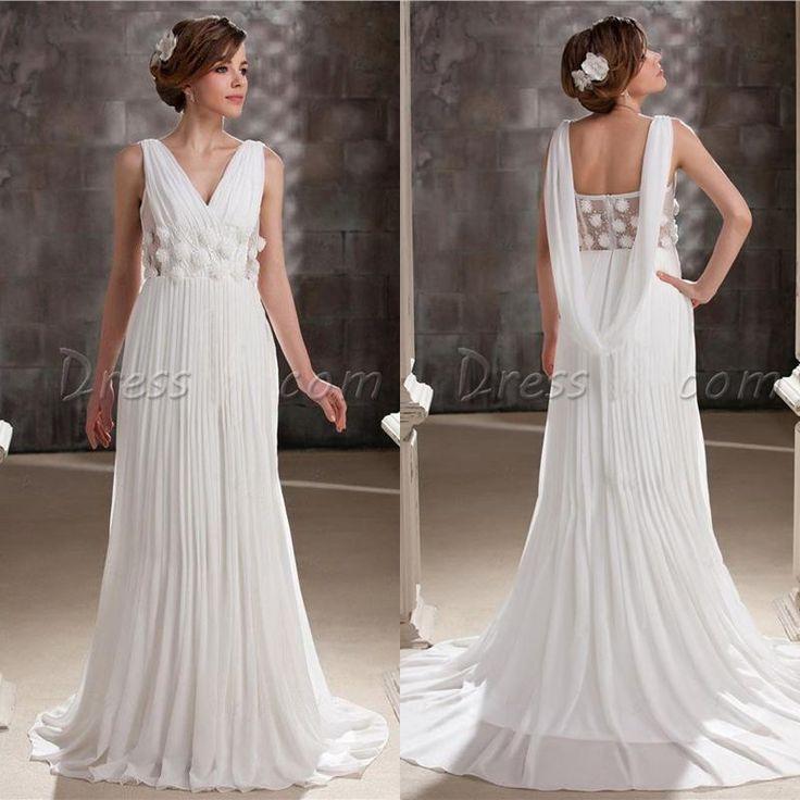 Grecian Wedding Dress: Best 25+ Greek Wedding Dresses Ideas On Pinterest