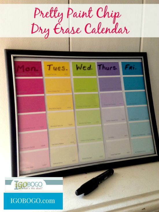 Best 25+ Paint Sample Calendar Ideas Only On Pinterest | Paint