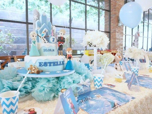 encuentra como decorar una Fiesta de Frozen ideas para celebrar un increible cumpleaños de