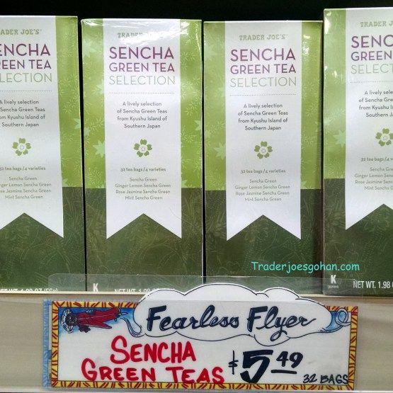 Trader Joe's Sencha Green Tea Selection 32Tea Bags  $5.49 トレーダージョーズ 煎茶 グリーンティセレクション