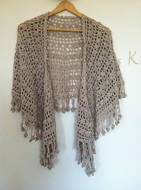 Shawl Love. Free crochet pattern