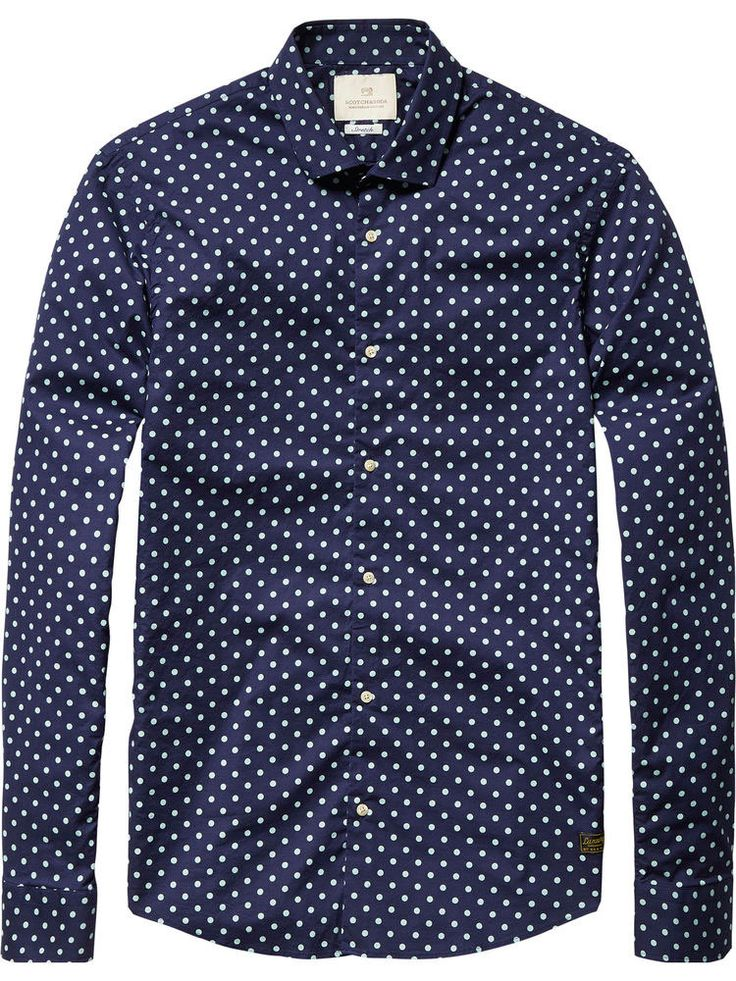 Scotch & Soda - Polka Dot Shirt