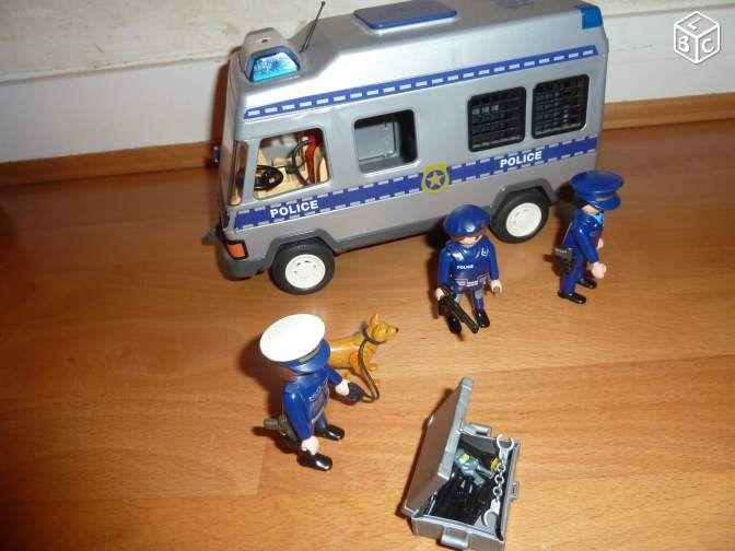 Les 25 meilleures id es de la cat gorie camion police - Camion toupie playmobil ...