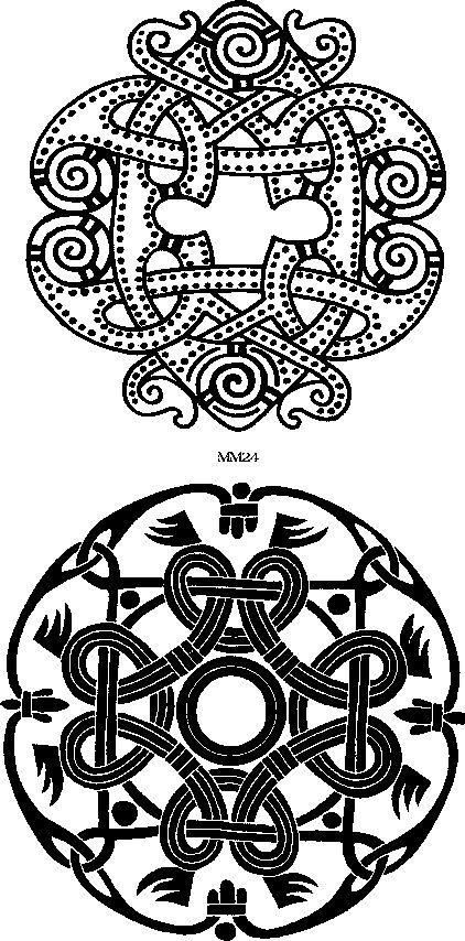 Interweaving emblems