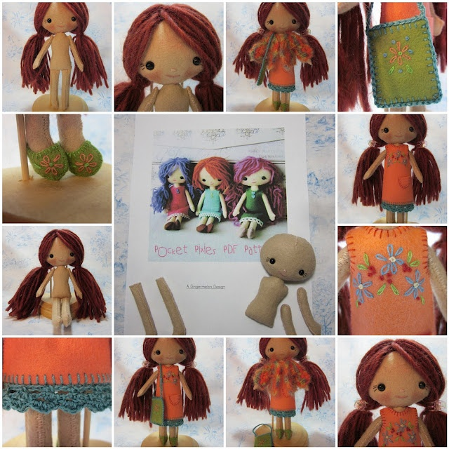 Soft Pixie Doll, Handmade Gifts for Kids