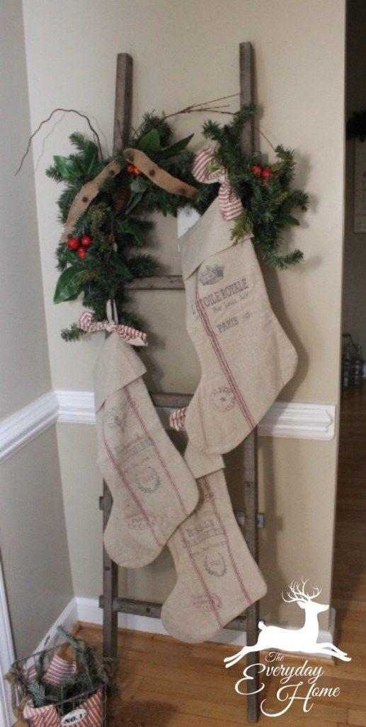 25+ Farmhouse Inspired Christmas Decor Ideas Christmas Decorating