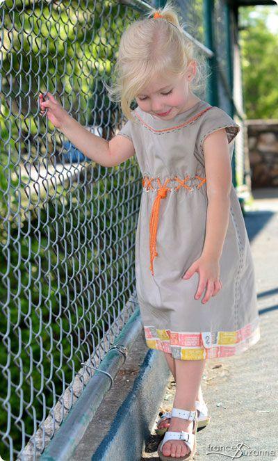 Frances Suzanne | Sewing with Sisters: Let's Roller Skate! {July Flip this Pattern: Oliver+S, Roller Skate Dress}