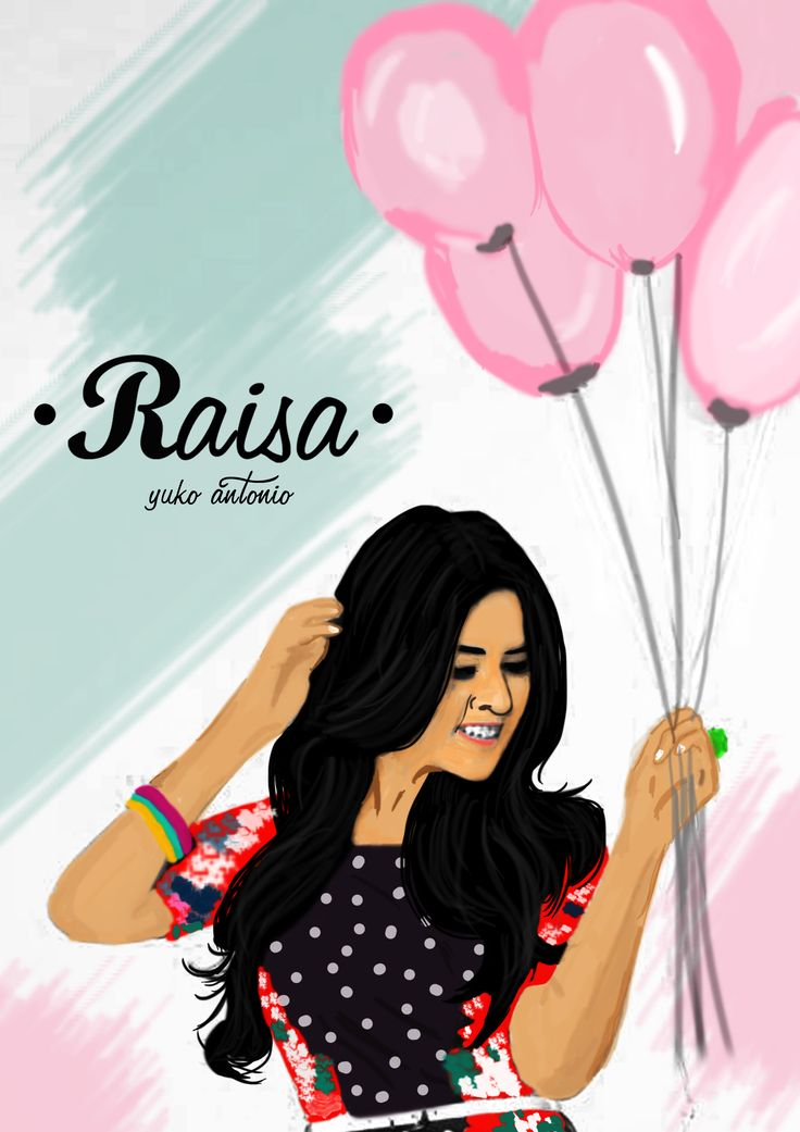 #Digital Painting #Photoshop #Raisa