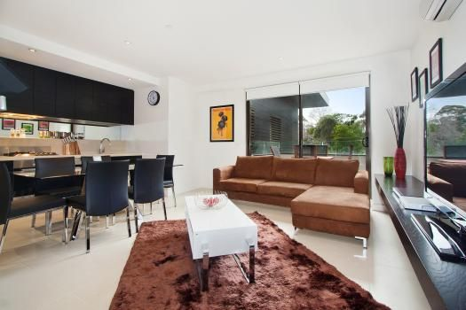 219/27 Herbert Street, St Kilda, Melbourne. This contemporary and modern, centrally located St Kilda apartment suite is perfect for boutique rentals whether for extended stays or short breaks. Featuring a lovely balcony and abundant natural light its stylish design makes this a highly appealing option.
