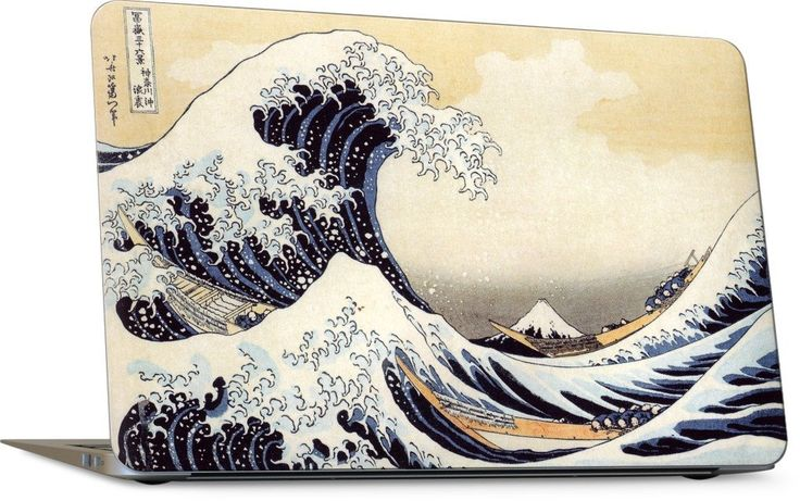 The Great Wave Laptop Skin
