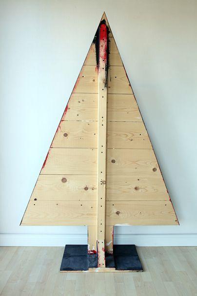 Die besten 25 tannenbaum vorlage ideen auf pinterest hama perlen weihnachten hama und - Weihnachtsbaum aus holz selber bauen ...