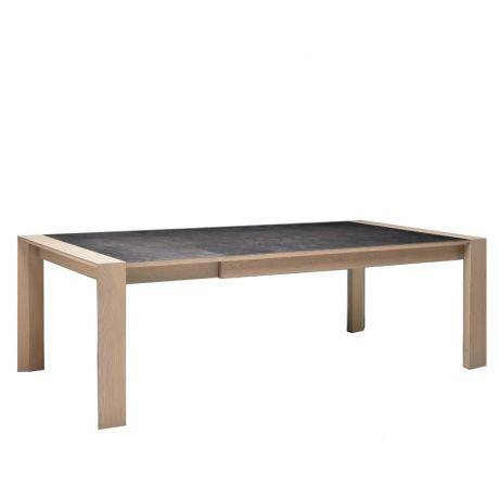 Les 25 meilleures id es de la cat gorie table ceramique extensible sur pinter - Table carree contemporaine ...