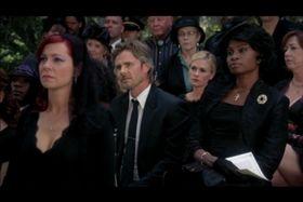 Terry Bellefleur's funeral