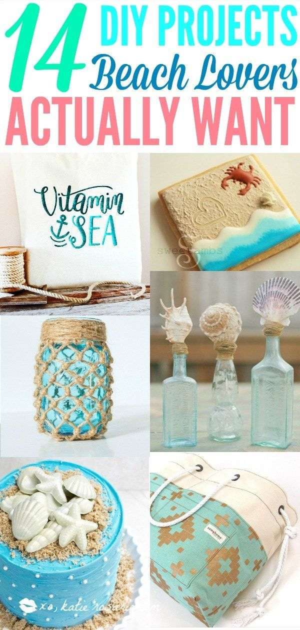 14 Diy Projects For Beach Lovers With Images Beach Themed