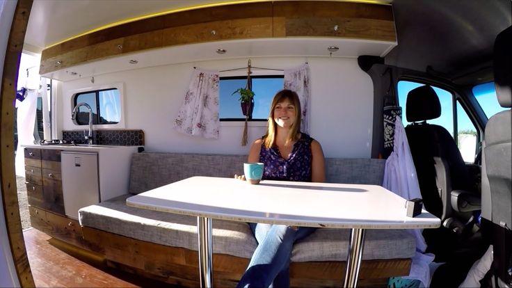 This is BY FAR the best 4x4 Sprinter Van Conversion I've seen - Full Camper Van Tour & Timelapse