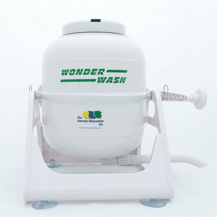 the wonder wash is a highly portable spacesaving economical lightweight hand operated washing machine is just what you need for your tiny house - Tiny House Appliances