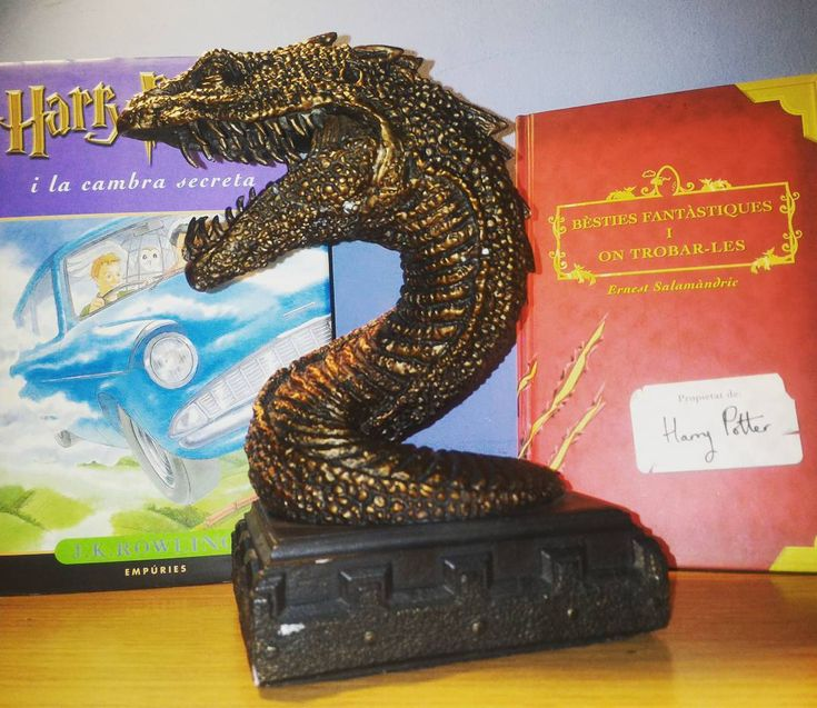 Harry Potter basilisk! Chamber of secrets and original Fantastic beasts and where to find them. #Harrypotter #basilisk #chamberofsecrets #figure #bust #book #read #reading #fan #doubletap #like4like #books #llegir #llibres #libro #libros #literatura #jkrowling #voldemort #fantasticbeasts #fawkes #dumbledore #ronweasley #hogwarts