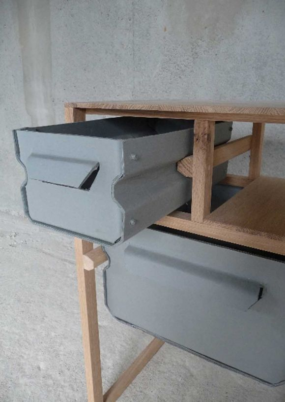 Paper Mache Furniture By Jeroen Wand Paper Paper Mache And Cabinets