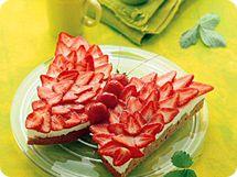 Erdbeer-Schmetterling