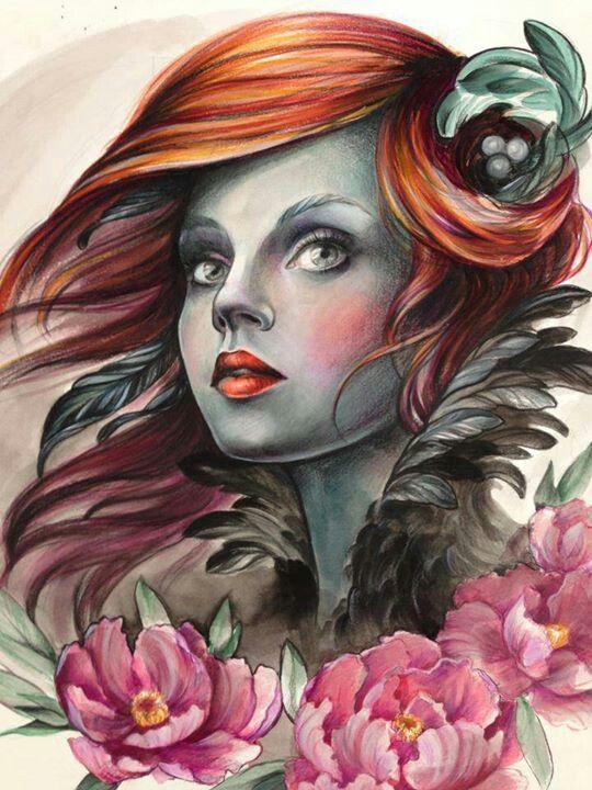 Fantastic Artwork by Maja at Kaleidoscope Tattoo in Bondi, Australia.