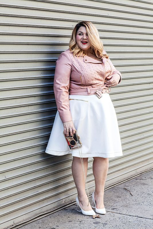 Pink Leather Dreams | Skater Skirt Outfit Idea | Pinterest | Circles Pastel and Outfit ideas