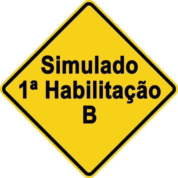 Simulado 1ª Habilitação B  Preparamos este teste simulado de prova teórica para que você possa se familiarizar com os conteúdos das provas oficiais do DETRAN para obtenção ou renovação da CNH.
