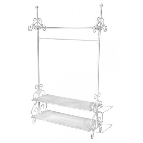 white vintage clothes rail i 39 m gonna have this for my. Black Bedroom Furniture Sets. Home Design Ideas