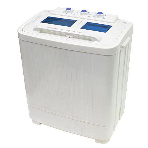 xtremepowerus electric small mini portable compact washer washing machine