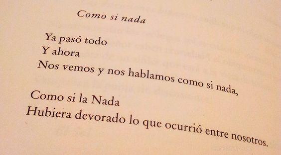 Como si nada, Jose Emilio Pacheco