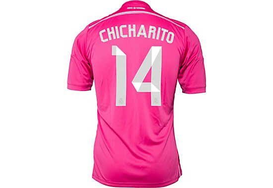 adidas Chicharito Real Madrid Away Jersey 2014-15