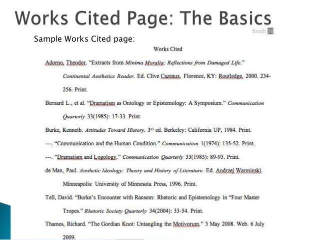 Image Result For Reflection Paper In Mla Format Works Cited Mla Citation Reflection Paper