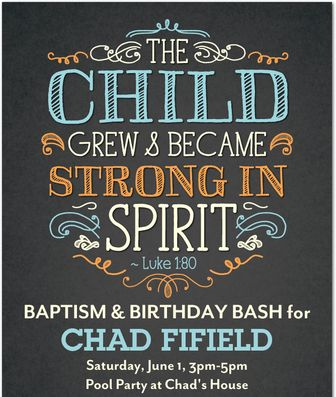 """Photo 1 of 16: Religious / Baptism """"Chad's Baptism/Birthday Party"""" 