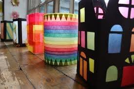 miss making this stuff as a kid! saint martin's day lanterns