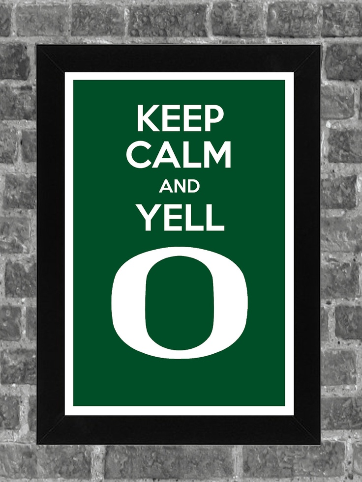 Keep Calm and Yell O. DEFINITELY NEED THIS!