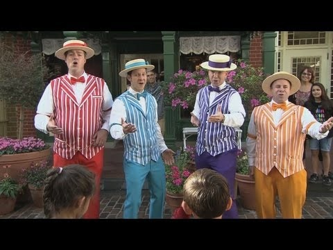 "Dapper Dans sing One Direction for Limited Time Magic as the ""original boy band"""