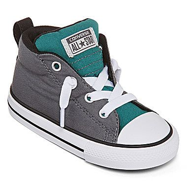 jcp | Converse® Chuck Taylor All Star Street Mid Boys Fashion Sneakers  - Toddler