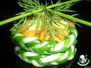 Тарталетки «Сырные плетeнки»
