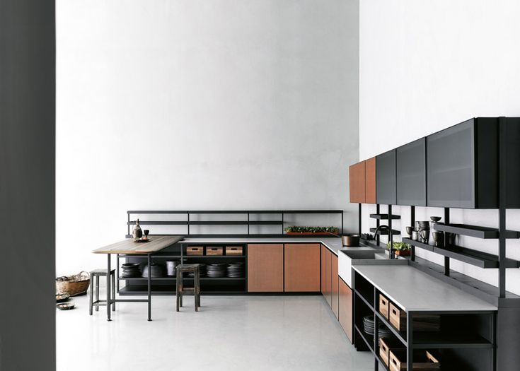 Patricia Urquiola's Salinas kitchen concept for Boffi - see more on blog