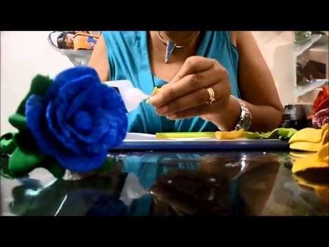 Caneta Flor em EVA com frisador