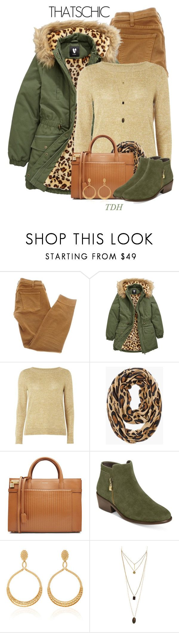 """""""Faux Fur Parka"""" by talvadh ❤ liked on Polyvore featuring Current/Elliott, mel, Chico's, Zadig & Voltaire, Aerosoles and cozychic"""